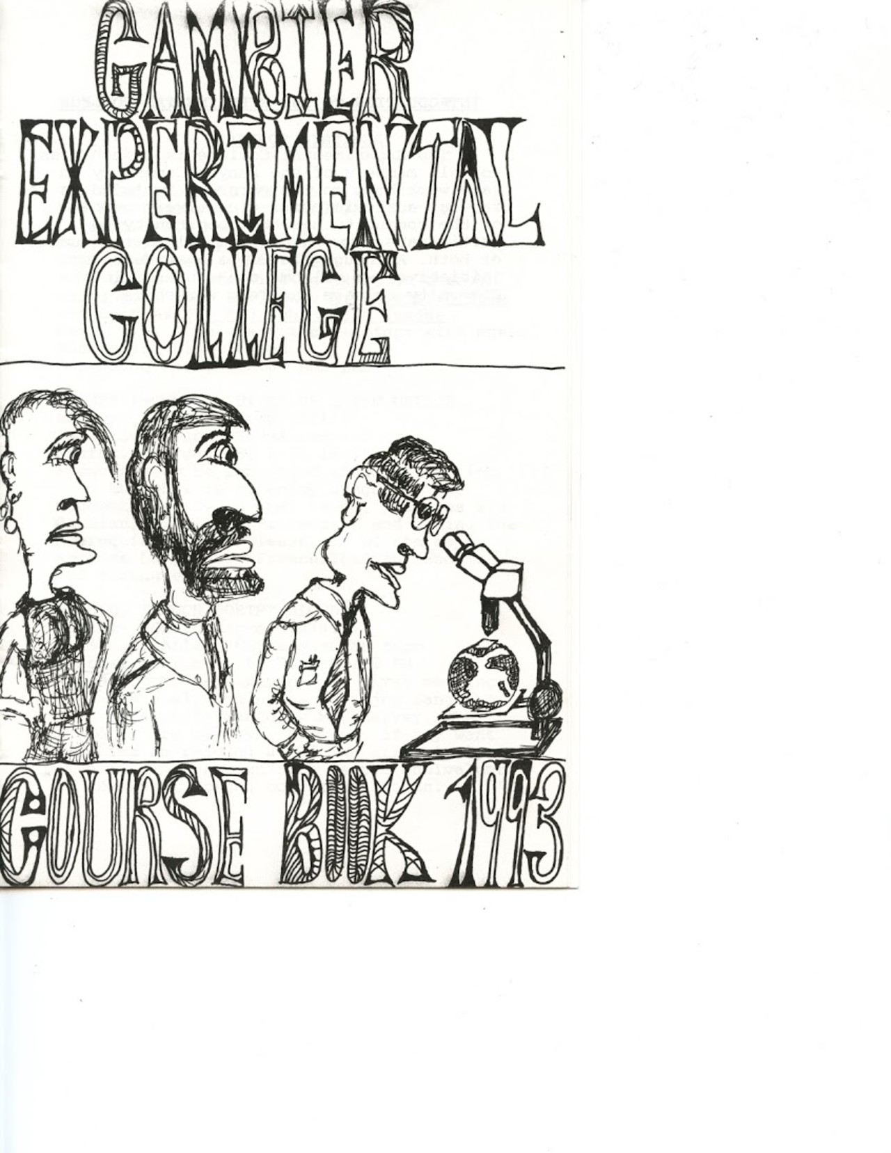 The Gambier Experimental College – The Collegian Magazine
