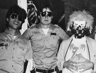 A young Leopoldo Lopez in costume at a Halloween Party